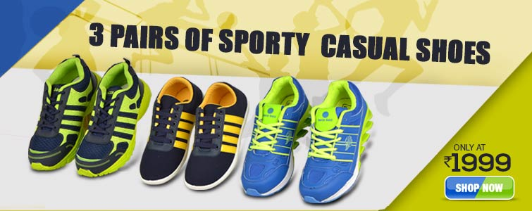 c0ad9e1f05b Mens Footwear - Buy Men's Shoes Online at Best Price in India on ...